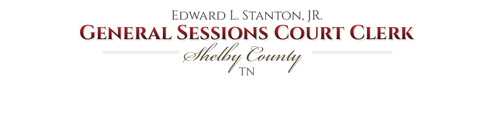 Shelby County Courts, TN - Official Website - Rules of the